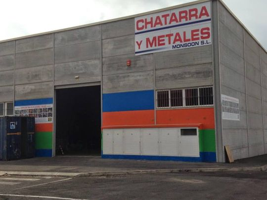 Chatarras y Metales Monsoon naves de reciclaje