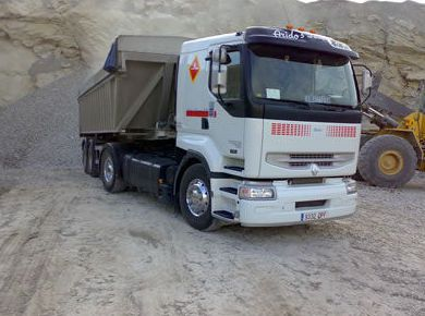 Chatarras y Metales Monsoon camion